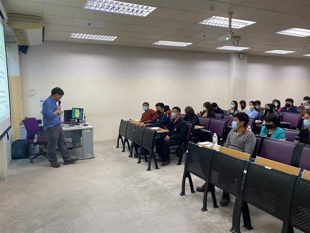 บุคลากรคณะนิติศาสตร์ ได้เข้าร่วมอบรมเพื่อเตรียมความพร้อมสำหรับรับการประเมินสำนักงานสีเขียว Green Office ประจำปี พ.ศ. 2564