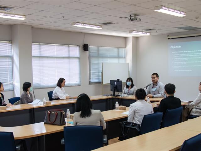 คณะศิลปศาสตร์เข้าศึกษาดูงานและแลกเปลี่ยนเรียนรู้การเรียนการสอนรายวิชาภาษาอังกฤษ หมวดวิชาศึกษาทั่วไป