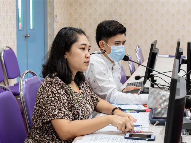 คณะศิลปศาสตร์จัดการประชุมเพื่อวางแผนดำเนินงานโครงการสุนทรียศิลป์แห่งภาษา