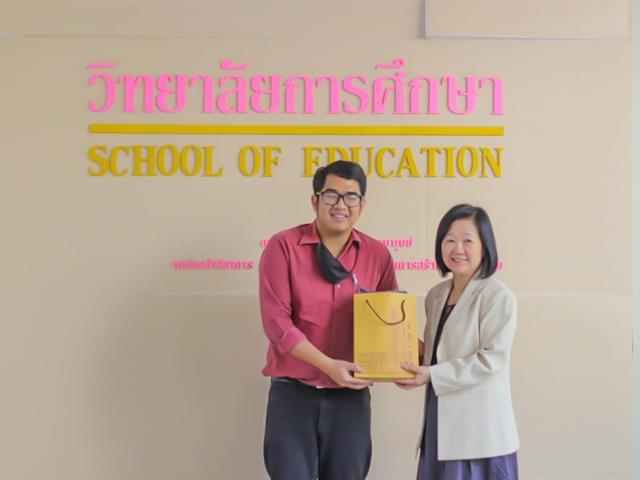 วิทยาลัยการศึกษา มหาวิทยาลัยพะเยา ต้อนรับคณะศึกษาดูงาน จากคณะศึกษาศาสตร์ มหาวิทยาลัยเชียงใหม่