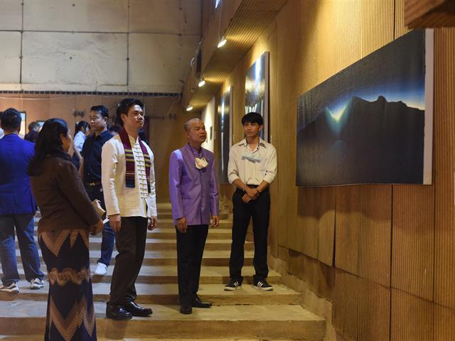 คณะสถาปัตยกรรมศาสตร์และศิลปกรรมศาสตร์  มหาวิทยาลัยพะเยา  KARMA SILP ART THESIS Exhibition 2021