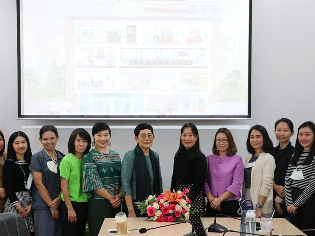 """คณะนิติศาสตร์ เข้าร่วมโครงการ """"Green SPSS"""" เพื่อแลกเปลี่ยนเรียนรู้และถอดบทเรียนการดำเนินงาน Green office"""