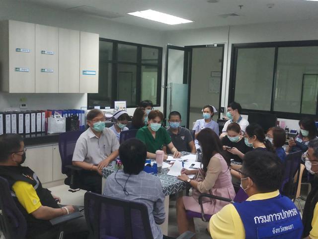 มหาวิทยาลัยพะเยา จัดโรงพยาบาลสนาม รองรับผู้ป่วยติดเชื้อ Covid -19 สนับสนุนจังหวัดพะเยา