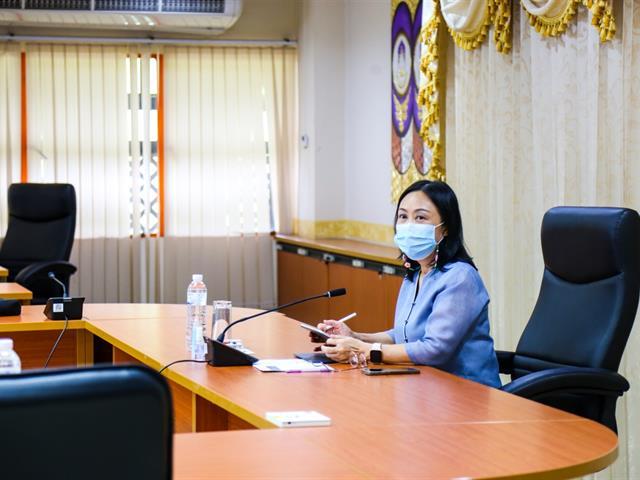 ผู้บริหาร มพ. ประชุม ติดตามการดำเนินงานในช่วงสถานการณ์ Covid-19