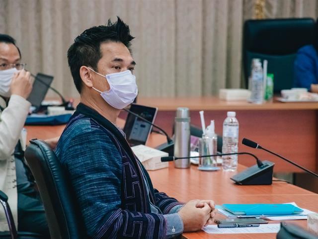 ประชุมคณะกรรมการ ด้านคุณธรรมและความโปร่งใสในการดำเนินงานของมหาวิทยาลัยพะเยา ครั้งที่ 2 (2/2564)