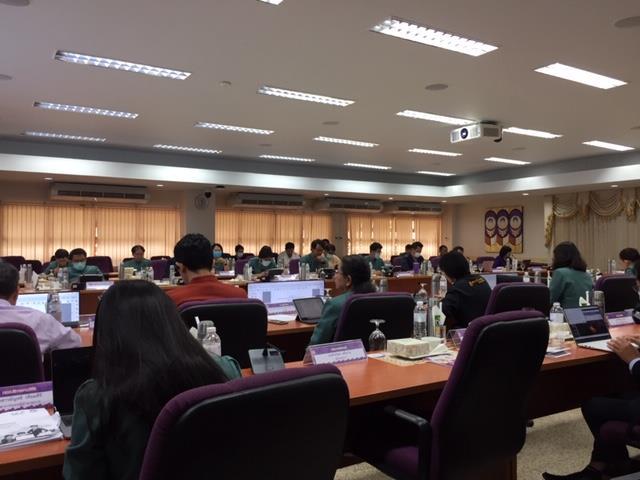 คณะผู้บริหารมหาวิทยาลัยพะเยา เข้าร่วมการประชุมคณะกรรมการอำนวยการฯ ITA ประจำปีงบประมาณ พ.ศ.2564