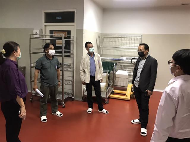 ผู้บริหารมหาวิทยาลัยพะเยา ลงพื้นที่ตรวจเยี่ยม ติดตามการดำเนินงานการจัดทำระบบมาตรฐาน   ณ สถาบันนวัตกรรมและถ่ายทอดเทคโนโลยี มหาวิทยาลัยพะเยา