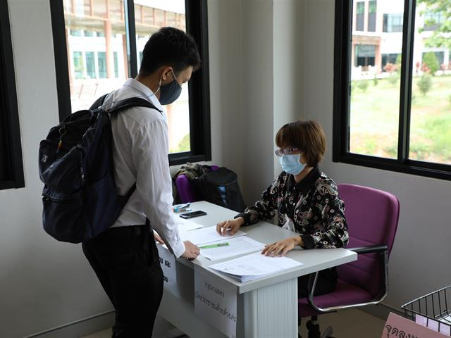 คณะทันตแพทยศาสตร์ มหาวิทยาลัยพะเยา ได้รับการจัดสรรการฉีดวัคซีน Sinovac (ซีโนแวค)