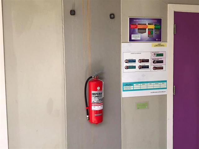 คณะนิติศาสตร์ได้ติดตั้งถังดับเพลิงเพิ่มเติม เพื่อเตรียมพร้อมภาวะฉุกเฉินและการป้องกันอัคคีภัย
