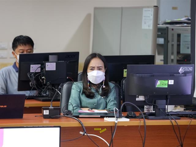 อธิการบดีมหาวิทยาลัยพะเยา ประชุมรายงานผลการดำเนินงาน ประจำปีงบประมาณ 2564