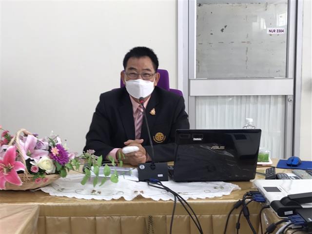 โครงการปัจฉิมนิเทศน์สำหรับผู้เข้าอบรมหลักสูตรประกาศนียบัตรผู้ช่วยพยาบาล